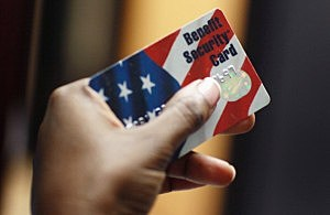 Federal food stamps card