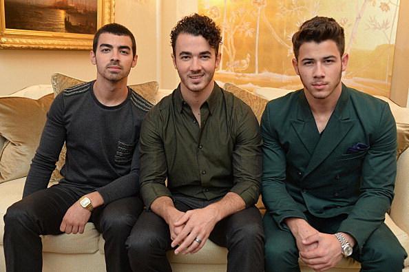 (L-R) Joe Jonas, Kevin Jonas, and Nick Jonas of the Jonas Brothers