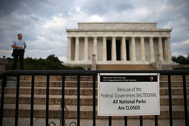 Government Shutdown - Find out what's closed and what's open