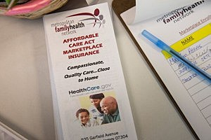 A pamphlet for the Affordable Care Act