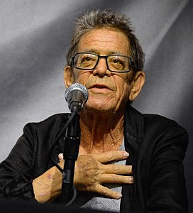 Lou Reed attends the John Varvatos Presents Transformer By Lou Reed And Mick Rock on October 3