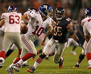 Eli Manning, New York Giants