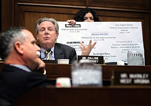 Rep. Frank Pallone (D-NJ) speaks during a hearing on implementation of the Affordable Care Act before the House Energy and Commerce Committee