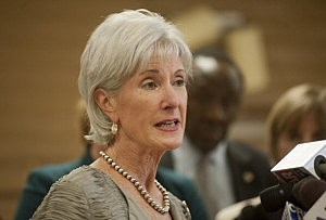 Health and Human Services Chief Kathleen Sebelius
