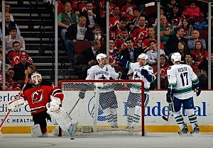 Canucks vs. Devils