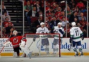 Canucks vs. Devils