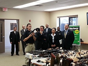 Middlesex County Gun Buyback Press Conference