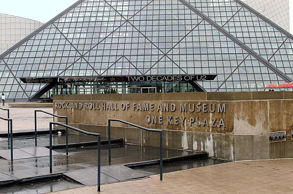 The Rock & Roll Hall of Fame in Cleveland