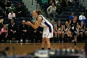 Ashley Cooper plays for Rumson-Fair Haven during the 2009 WOBM Christmas Classic
