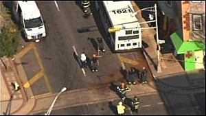 Bus crash on Arctic Avenue in Atlantic City