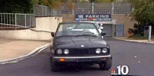BMW that drove down the Phialdelphia Art Museum steps