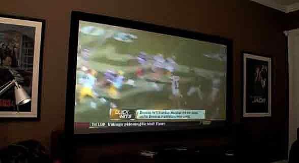 Big screen television