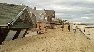 Homes damaged by Superstorm Sandy in Point Pleasant