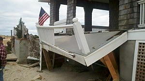 Damage from Superstorm Sandy in Point Pleasant