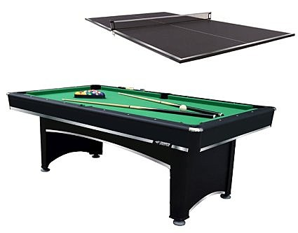 Combination ping pong /pool table