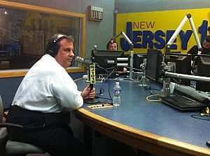 Governor Christie in studio for Ask the Governor