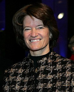 Former astronaut Sally Ride