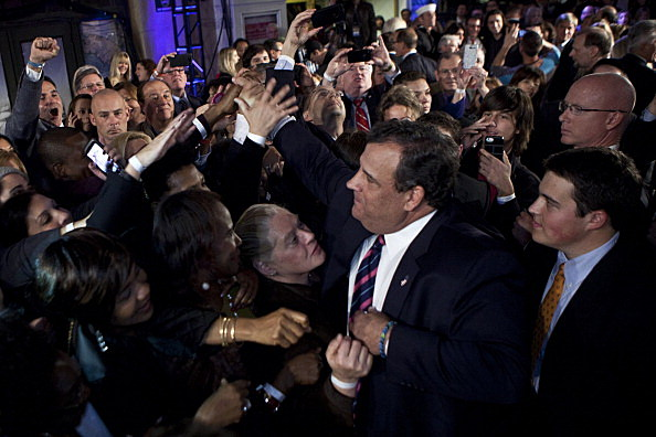 New Jersey Governor Chris Christie Holds Election Night Party