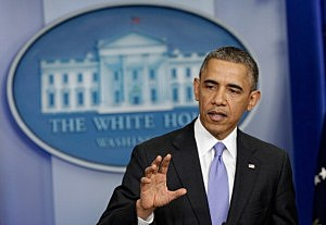 President Barack Obama speaks about the Affordable Care Act