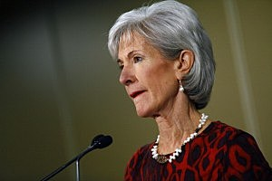 U.S. Health and Human Services Secretary Kathleen Sebelius speaks about the Affordable Care Act during her visit to Community Health and Social Services Center (CHASS) in Detroit