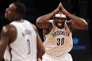 Reggie Evans, Brooklyn Nets