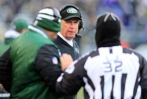 Jets head coach Rex Ryan