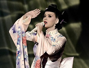 Katy Perry performs onstage during the 2013 American Music Awards