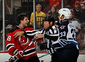Steve Bernier, New Jersey Devils