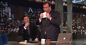 Governor Christie with Jimmy Fallon