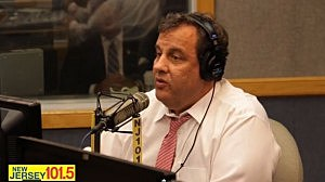 Governor Christie during Ask the Governor