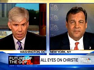 Governor Christie on Meet The Press