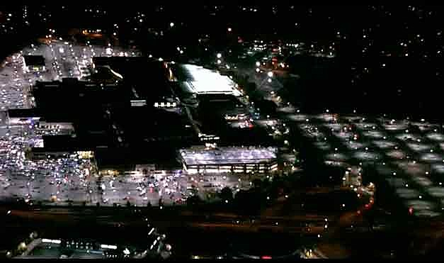 Aerial view of the Garden State Plaza