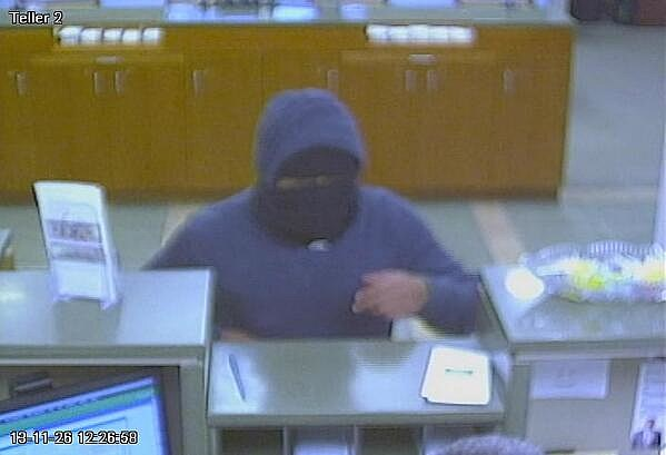 Maple Shade bank robbery suspect