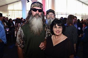 Phil Robertson and Miss Kay Robertson
