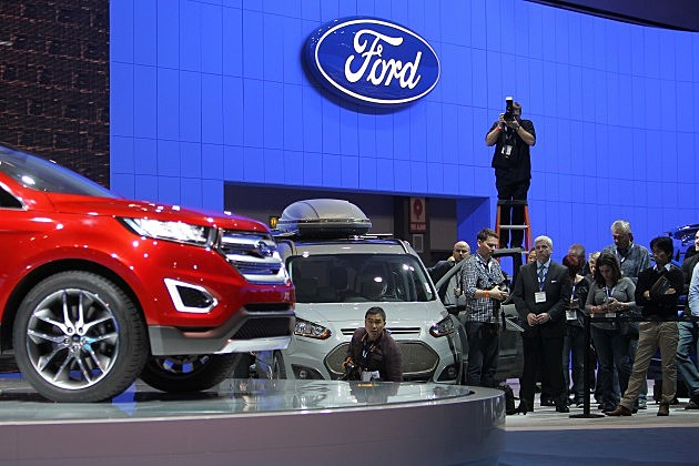 Automakers Debut New Models At The Los Angeles Auto Show