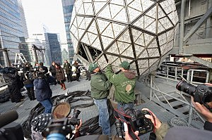 2014 New Year's Eve Ball Unveiling