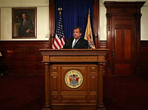 Governor Chris Christie answers questions about Bridgegate