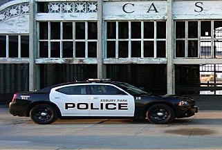 Asbury Park Police cruiser
