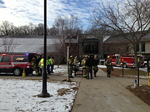 Response to odor on the campus of Brookdale Communiity College in Lincroft