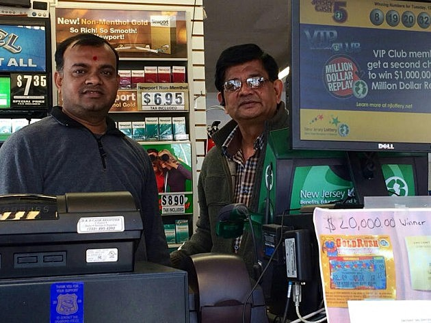 Kartik Food and News Store owner Jitu Patel