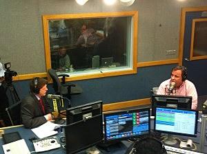 Gov. Chris Christie with Eric Scott
