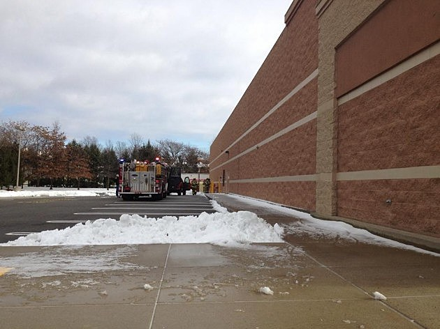 Fire crew responds to report of the odor of gas at Target in Middletown