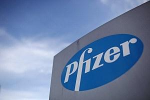 Pfizer Pharmaceutical company logo