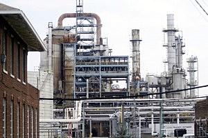 ConocoPhillips oil refinery in Trainer, Pennsylvania
