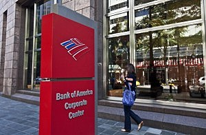 Bank of America Corporate Center in Charlotte, North Carolina