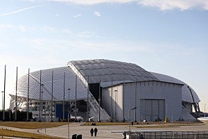 Fisht Olympic Stadium  in Alder, Russia