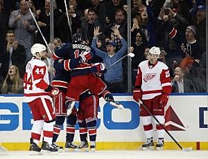 Detroit Red Wings vs. New York Rangers