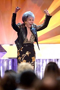 Actress Rita Moreno accepts the Screen Actors Guild Life Achievement Award onstage during the 20th Annual Screen Actors Guild AwardsActress Rita Moreno accepts the Screen Actors Guild Life Achievement Award onstage during the 20th Annual Screen Actors Guild Awards