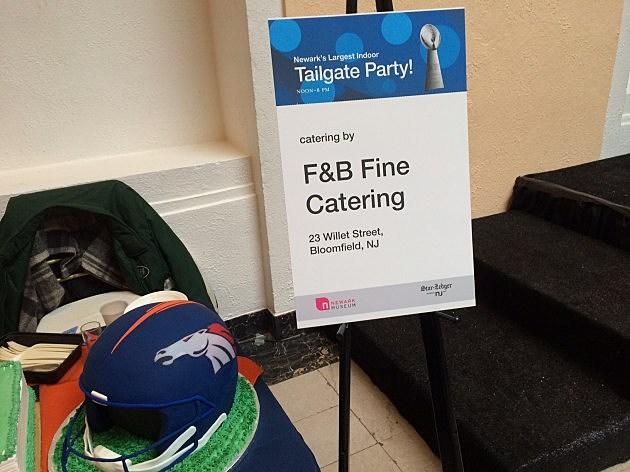 The largest Indoor Tailgate Party at Newark Museum