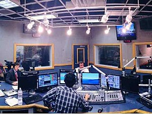 Studio during Ask the Governor
